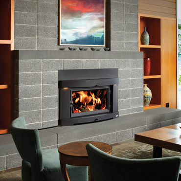 Avalon Wood Fireplace Insert From Hibernation Stoves